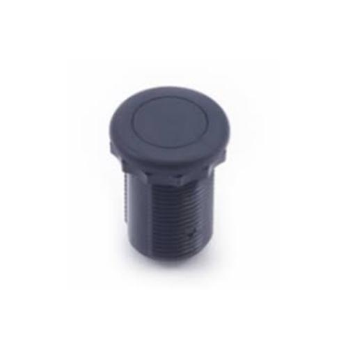 Air Button, Therm, #15 Style, Flush, Black