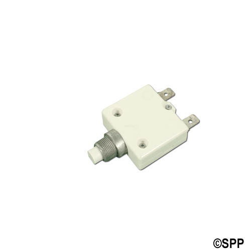 "Circuit Breaker, Panel Mount, 8 Amp, 7/16""Diameter"