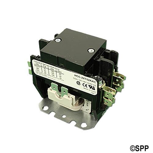 Contactor, DPST, 115VAC Coil, 40A