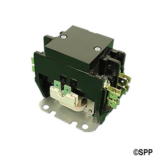 Contactor, DPST, 240VAC Coil, 30A