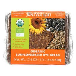 Organic Bread - Sunflower Seed Rey ( 6 - 17.6 OZ )