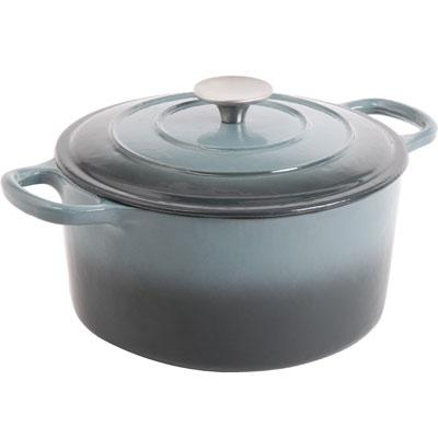 CrockPot Dutch Oven 5 Quart Gray