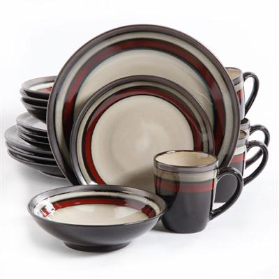 GE Lewisville DW Red 16pc