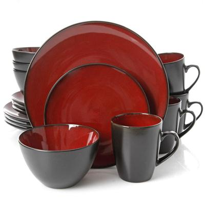 GH SoHo Lounge Rnd DW Red 16pc