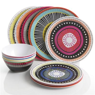 GH Almira Melamine DW Set 12pc