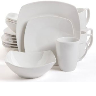 Zen Buffetware DW 16pc White
