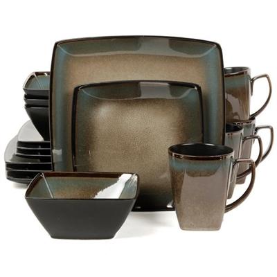 16 pc dinnerware set TAUPE