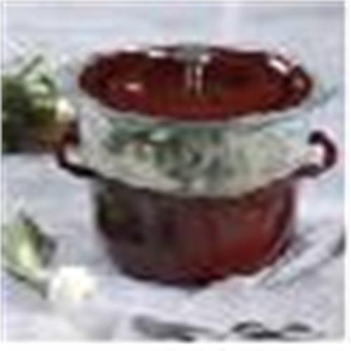 3qt casserole w Glass steamer