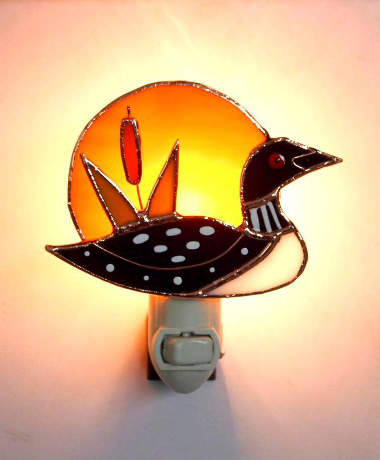 Loon Sunrise Nightlight