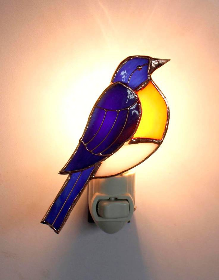 Bluebird Nightlight