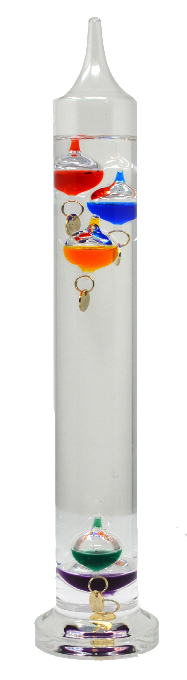 Galileo Thermometer 11 inches (28 cm)