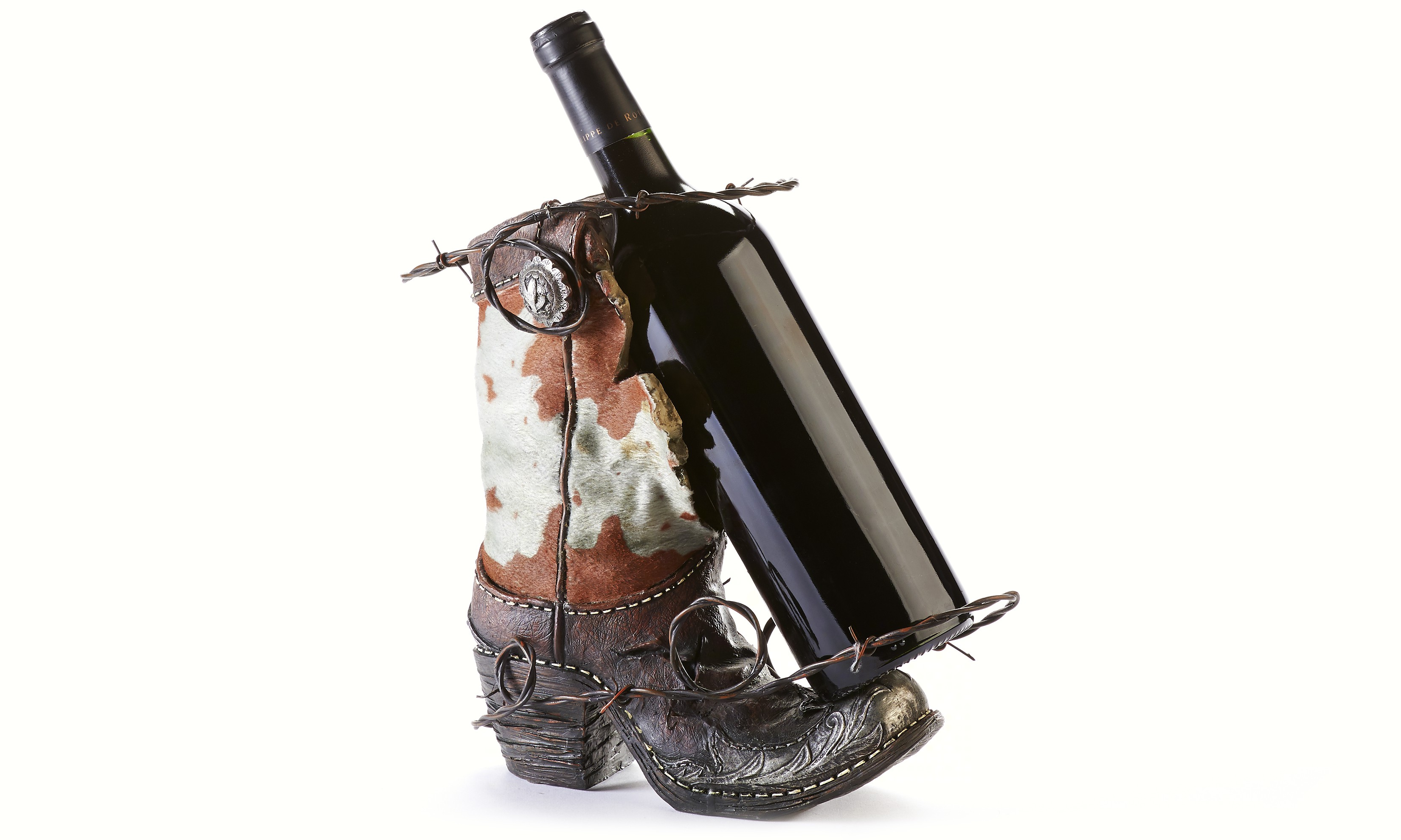 Boot Wine Bottle Holder