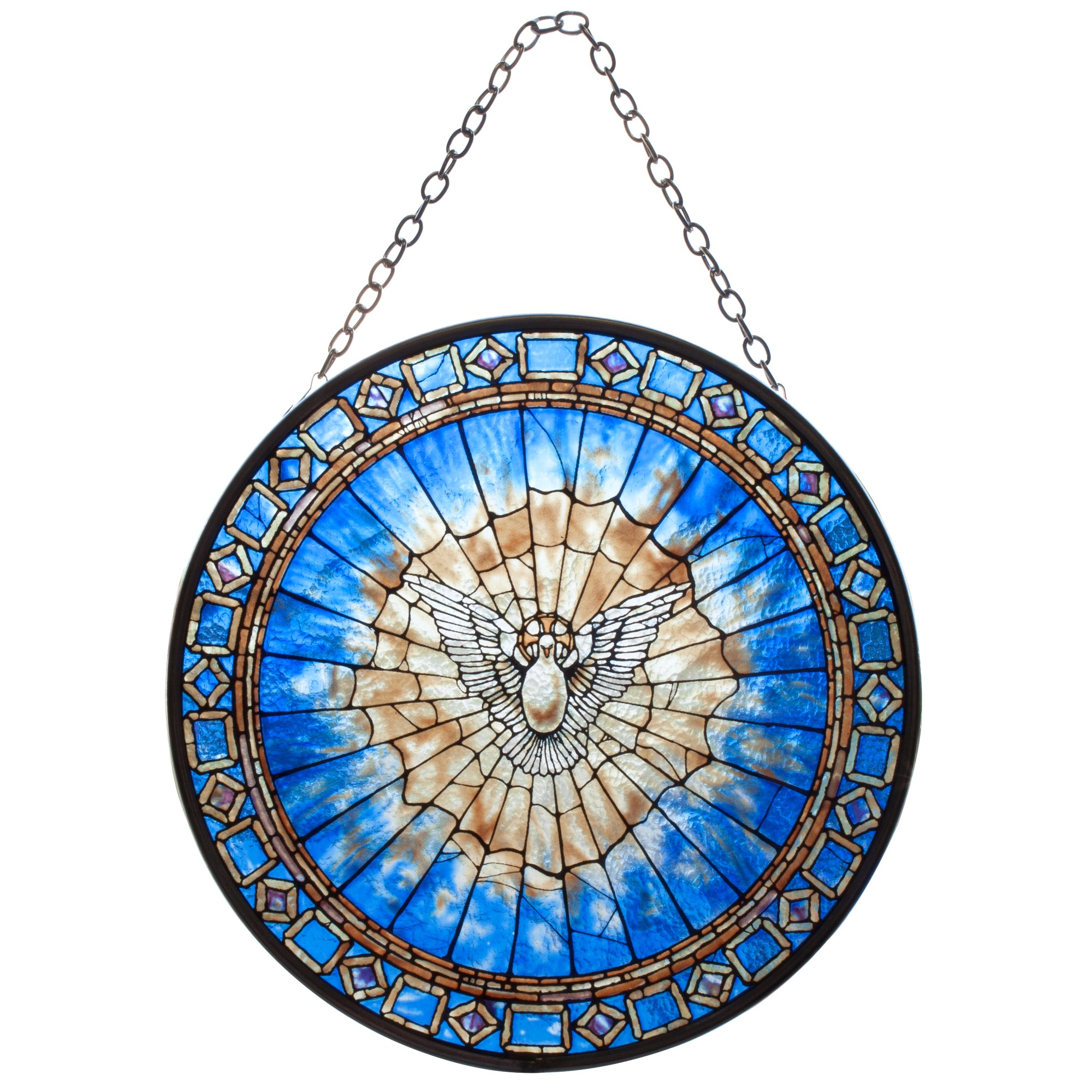 Holy Spirit Roundel Suncatcher