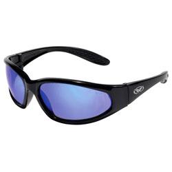 HERC  GTEC BLUE MIRROR LENSE  BLACK FRM