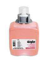 GOJO+ 1250 ml Refill Translucent Pink FMX-12+ Cranberry Scented Luxury Foam Handwash