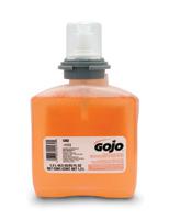 GOJO+ 1200 ml Refill Translucent Apricot TFX+ Fresh Fruit Scented Premium Foam Antibacterial Handwash