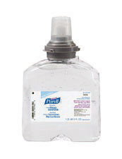 GOJO� 1200 ml Refill Clear Purell� TFX� Citrus Scented Advanced Instant Hand Sanitizer