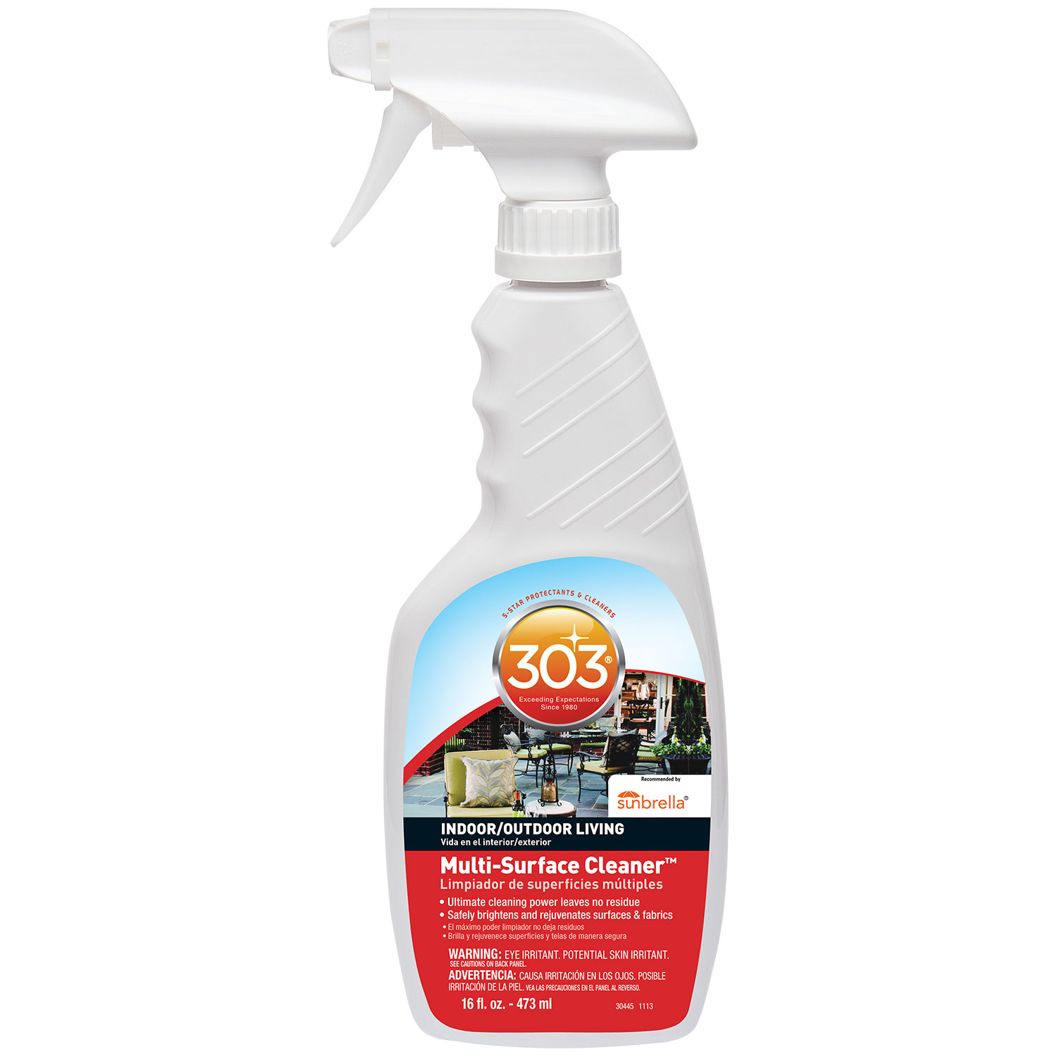 Cleaning Product, 303, Multi-Surface Cleaner, 16oz Spray Bottle