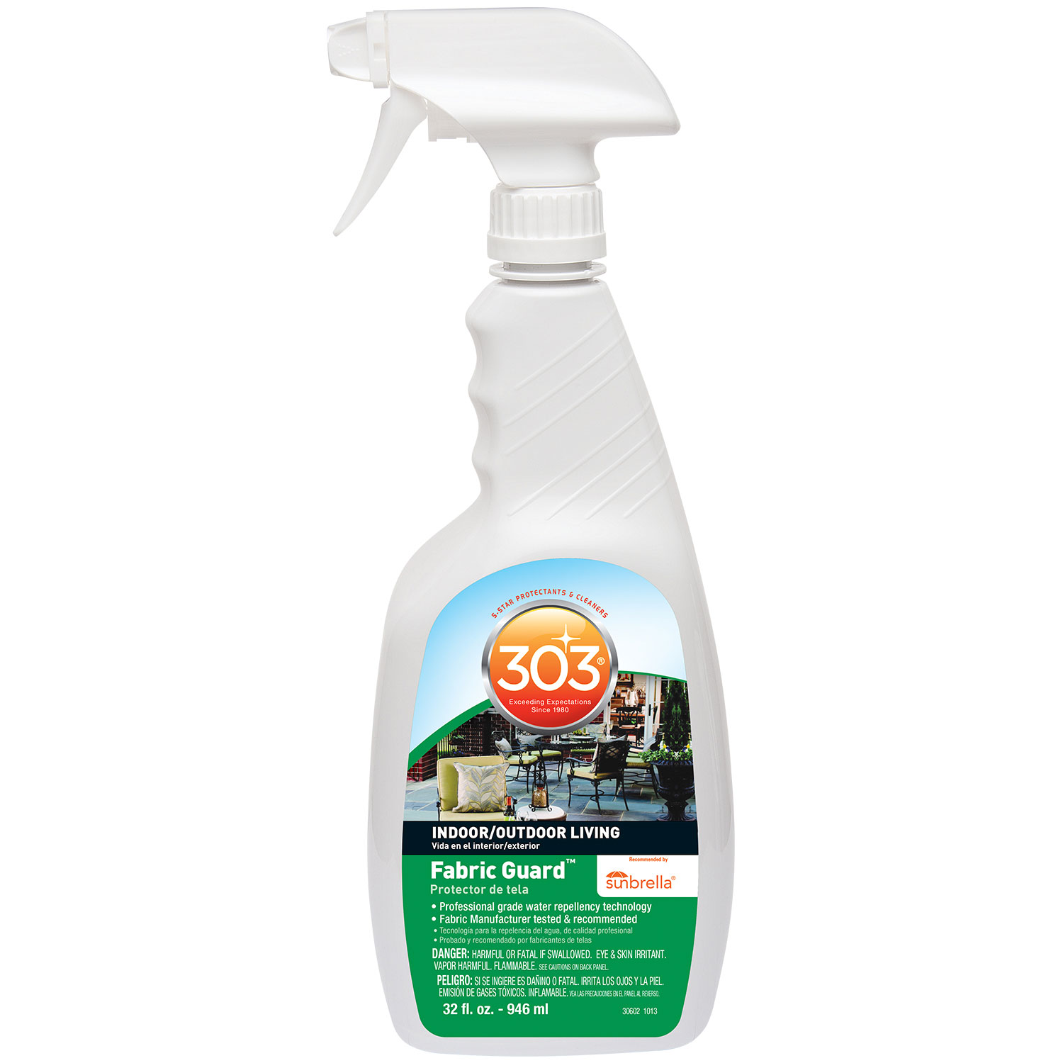 Water Repelant, 303, Fabric Guard, 32oz Spray Bottle
