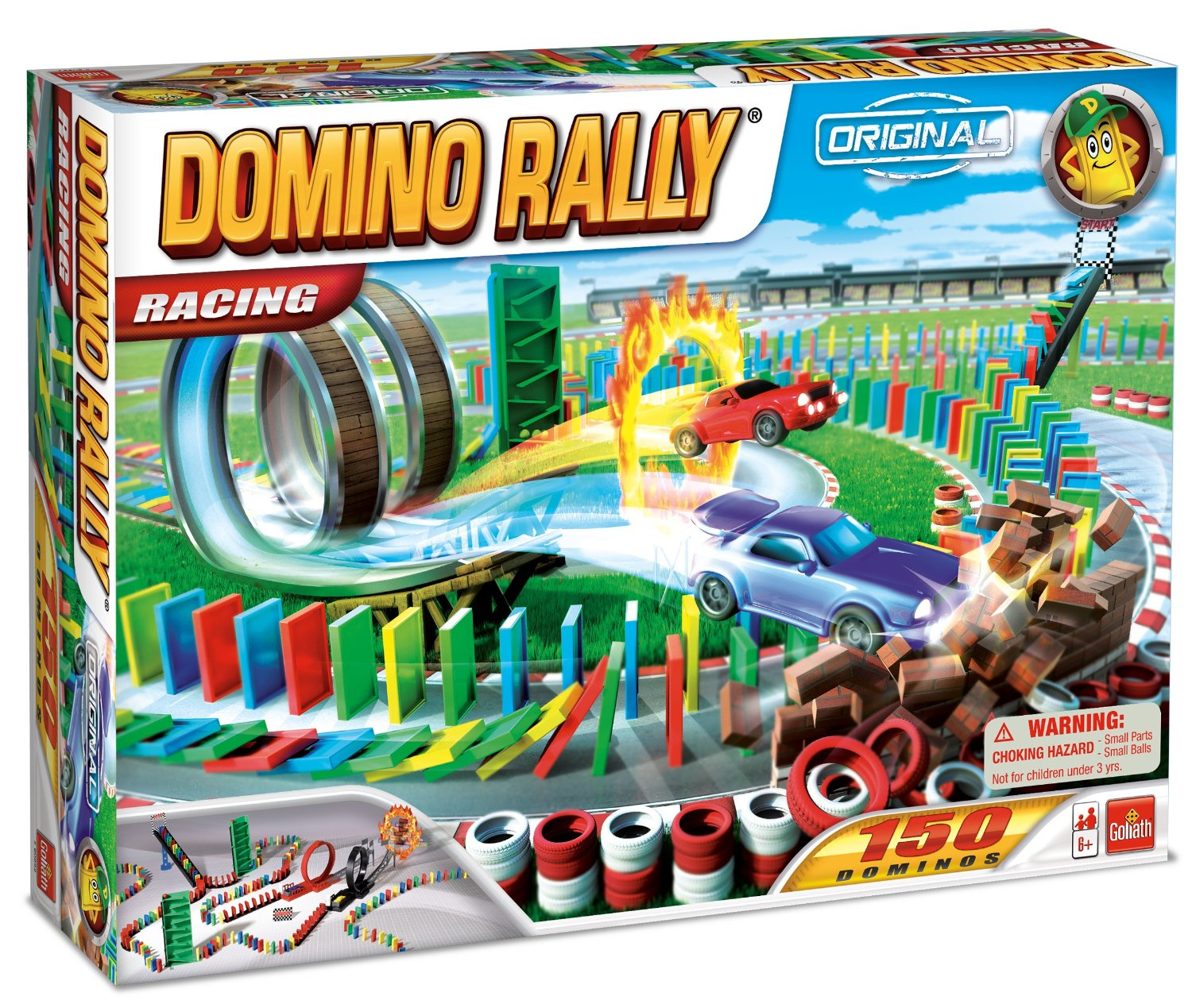Domino Rally Racing Set