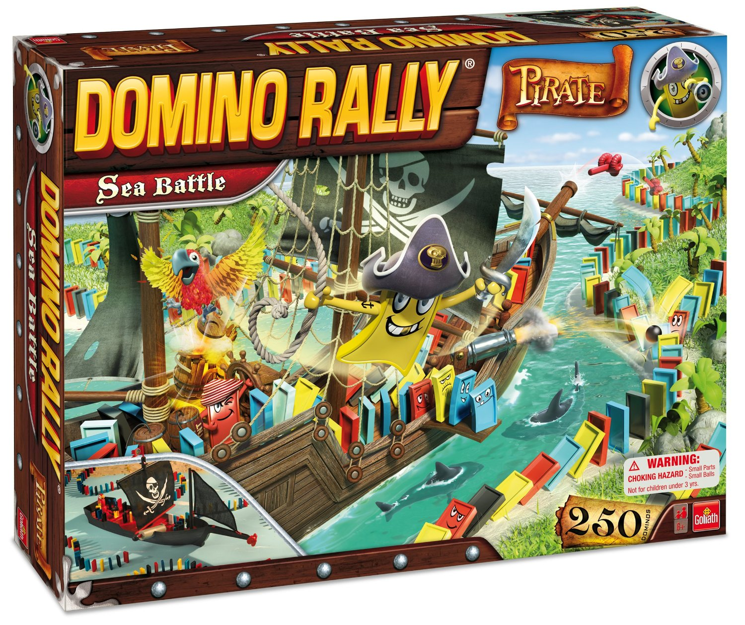 Domino Rally Pirate Sea Battle Set