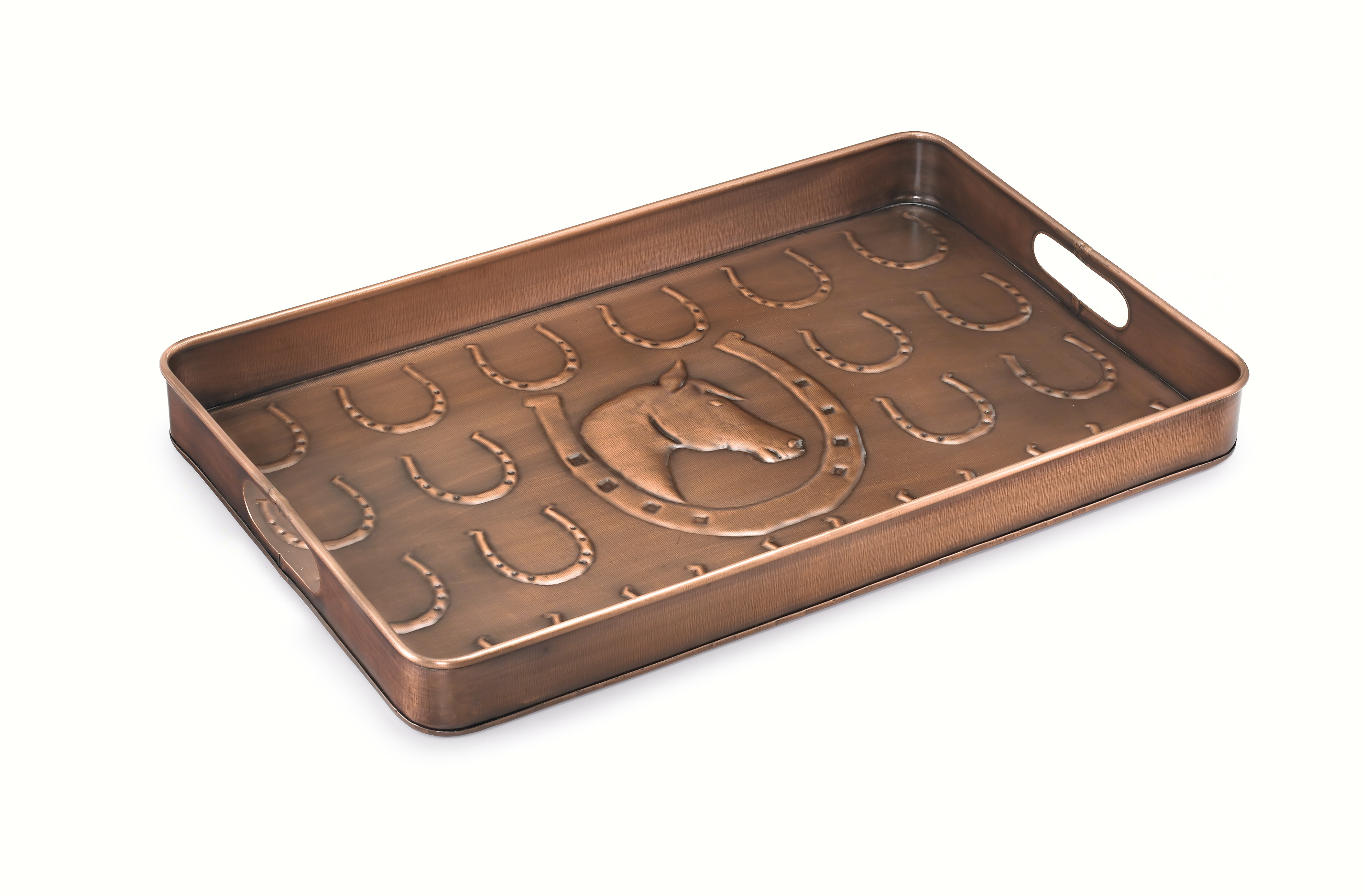 Horse Shoe Boot Tray Venetian