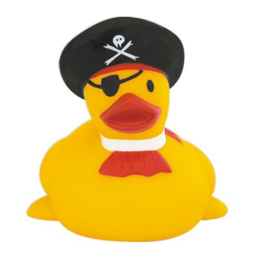 Rubber Duck, One Eyed Pirate Duck