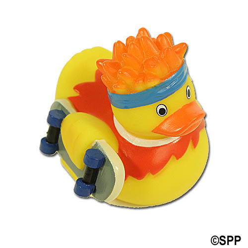 Rubber Duck, Skateboarder Duck