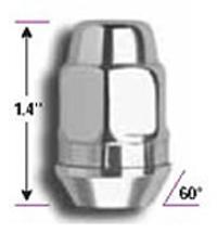 Stainless Steel Lug Nut Pack