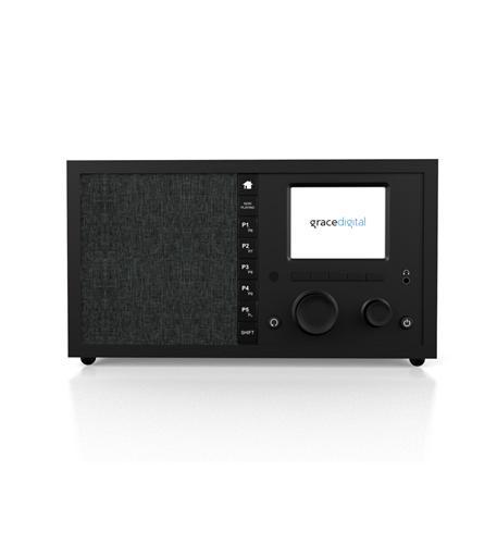 InternetRadio w/Chromecast-Classic Black