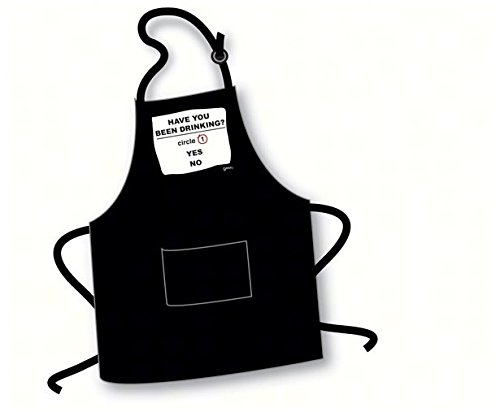 "Apron ""Have You Been Drinking? Circle 1 Yes No"""