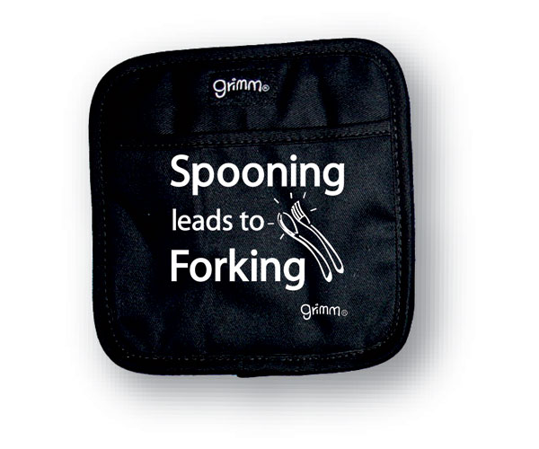 Pot Holder  Spooning Leads to Forking
