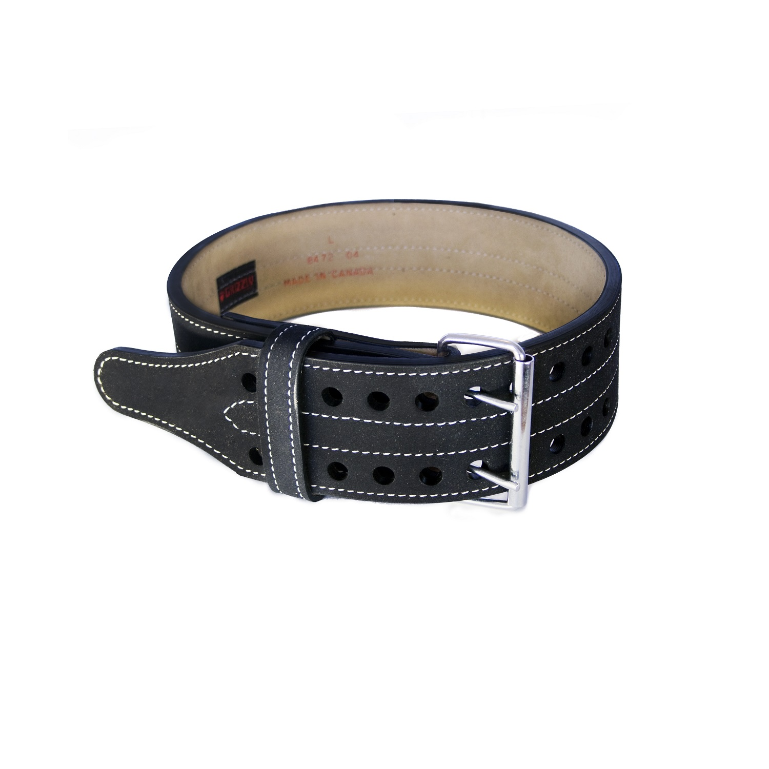 "4"" Double Prong Powerlifting Belt - XL"