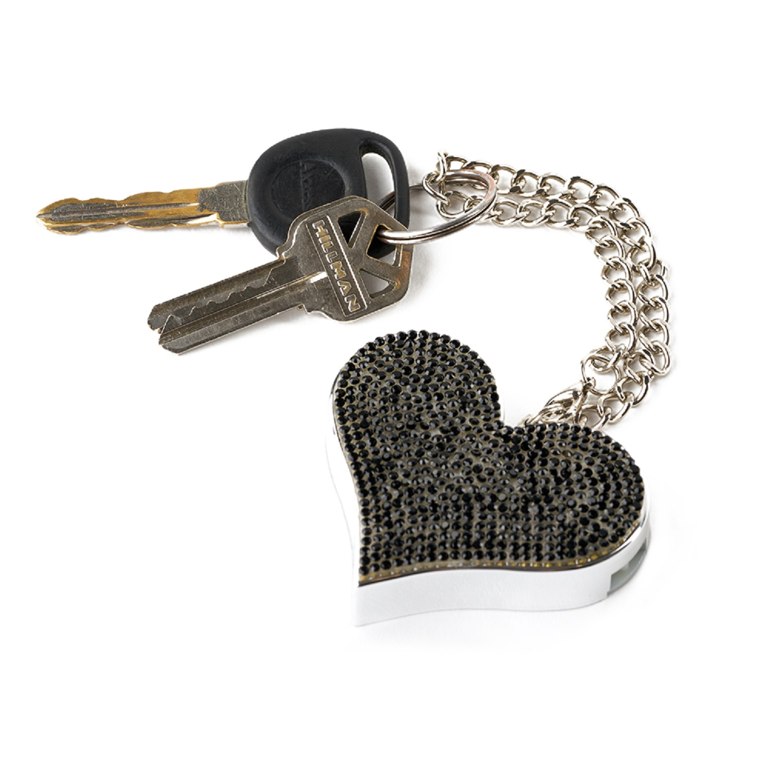 Guard Dog HeartBeat Keychain Alarm Black
