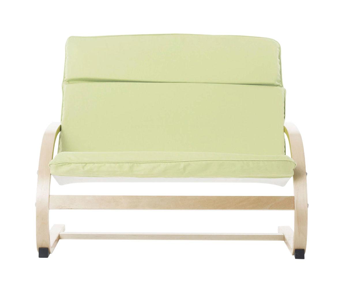 Guidecraft Kiddie Rocker Couch - Light Green