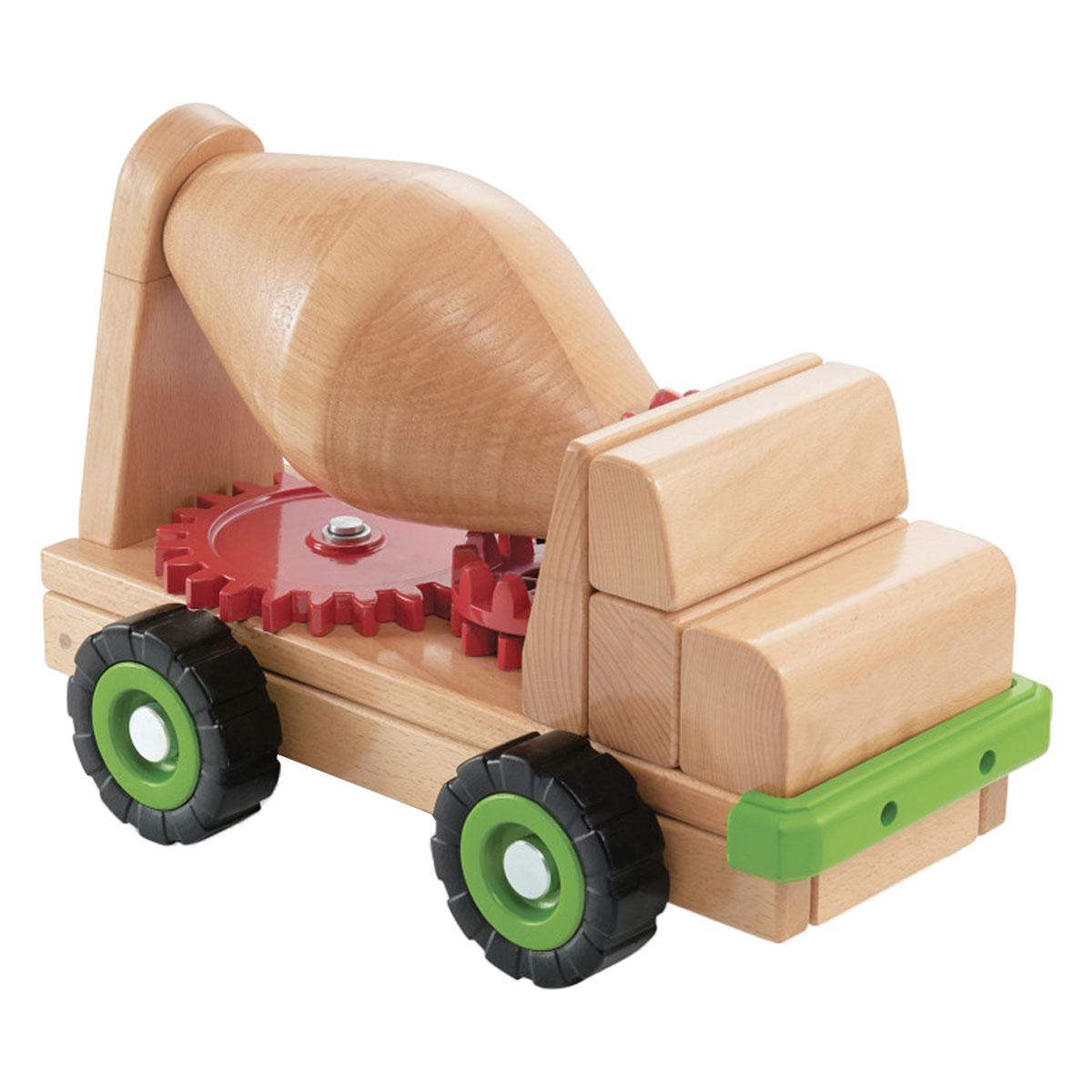Guidecraft Block Science Big Cement Mixer Truck