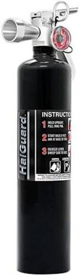 2.5 lb. HalGuard Black Clean Agent Fire Extinguisher