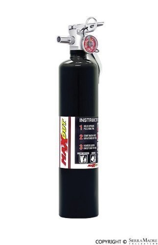 2.5 lb. MaxOut Black Dry Chemical Fire Extinguisher