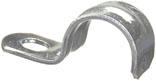 Halex 96153 1-Hole Snap-On Conduit Strap, 1 in, Steel