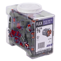 CONNECTR SNP-IN FLX 50CT 3/8IN