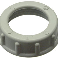 BUSHING CONDUIT PLASTIC 1/2IN