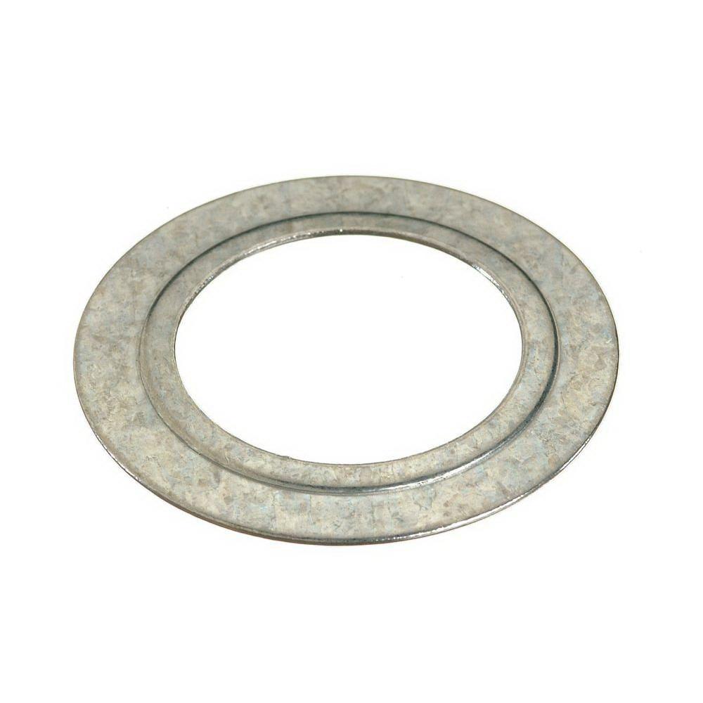 Halex 68612B Reducing Washer, 2 X 1-1/4 in, Steel, Galvanized