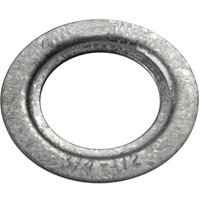 Halex 68720 Rigid Reducing Conduit Washer, 2 in x 2-1/2 in, Steel, Zinc Plated