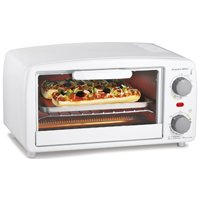 4 Slice Toaster Oven Broiler White