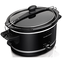 Stay or Go® 4 Quart Slow Cooker, Black