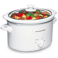 Hamilton Beach 33275 Oval Slow Cooker, 3 qt