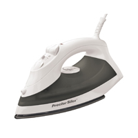 Proctor Silex 17202 Non-Stick Steam Iron, 1200 W, 120 V, 12.7 oz Tank, Blast and Fine-Mist Spray