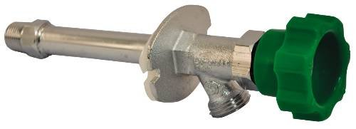 "HAMMOND FROST-PROOF SILLCOCK, 1/2X6"", CHROME-PLATED"