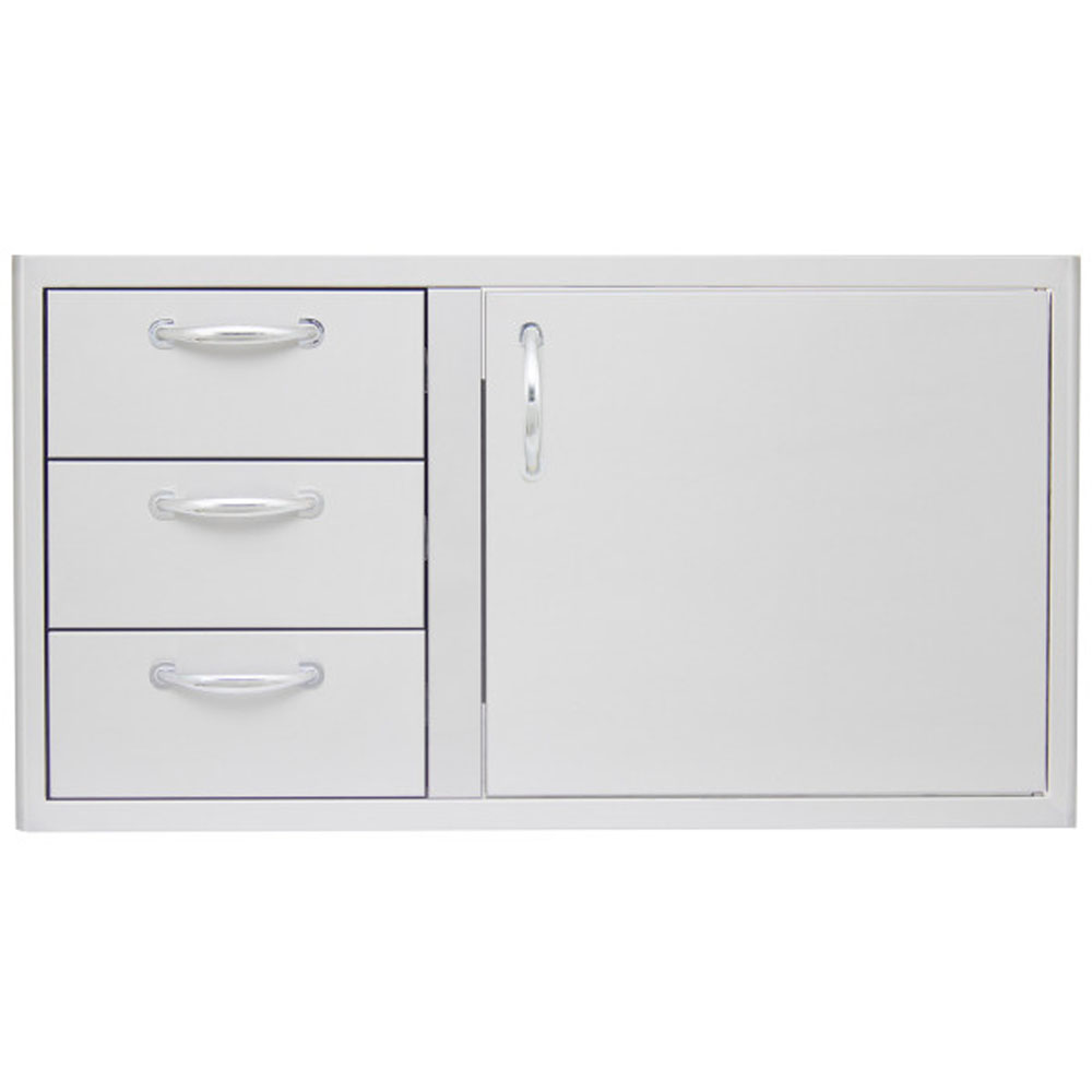 "39"" Door/Triple Drawer Dry Pantry - for 5-Burner"