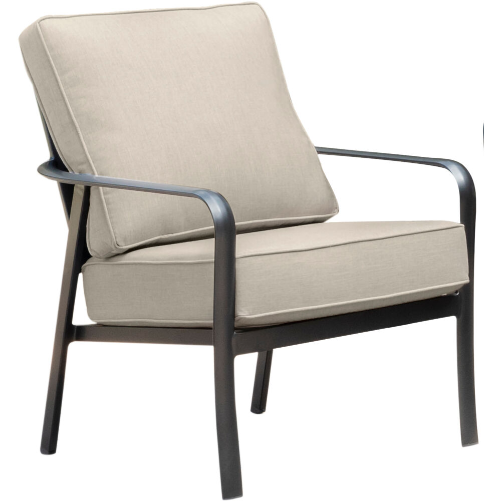 Commercial Aluminum Side Chair with Sunbrella Cushion